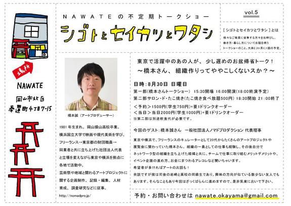 『シゴトとセイカツとワタシ』Vol.5 ~橋本さん、組織作りってややこしくないスか?~