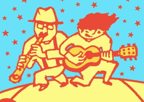 尺八とギターのお楽しみライブ 岸本寿男×田中彬博